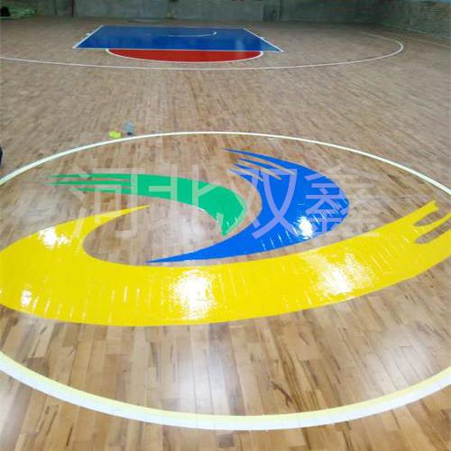 山西省临汾市篮球场馆施工完成