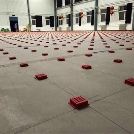 唐山机务段职工体育馆木地板开工